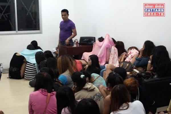 Рекордное количество трансвеститов задержано в Паттайе