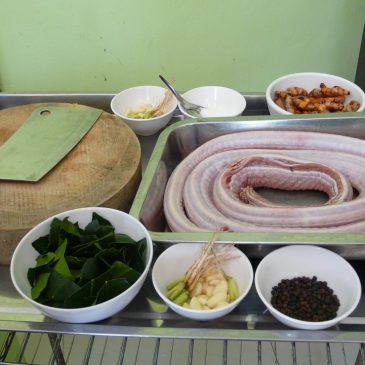 Как правильно пожарить змею рецепты из Таиланда