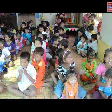 Благотворительный визит в детский дом