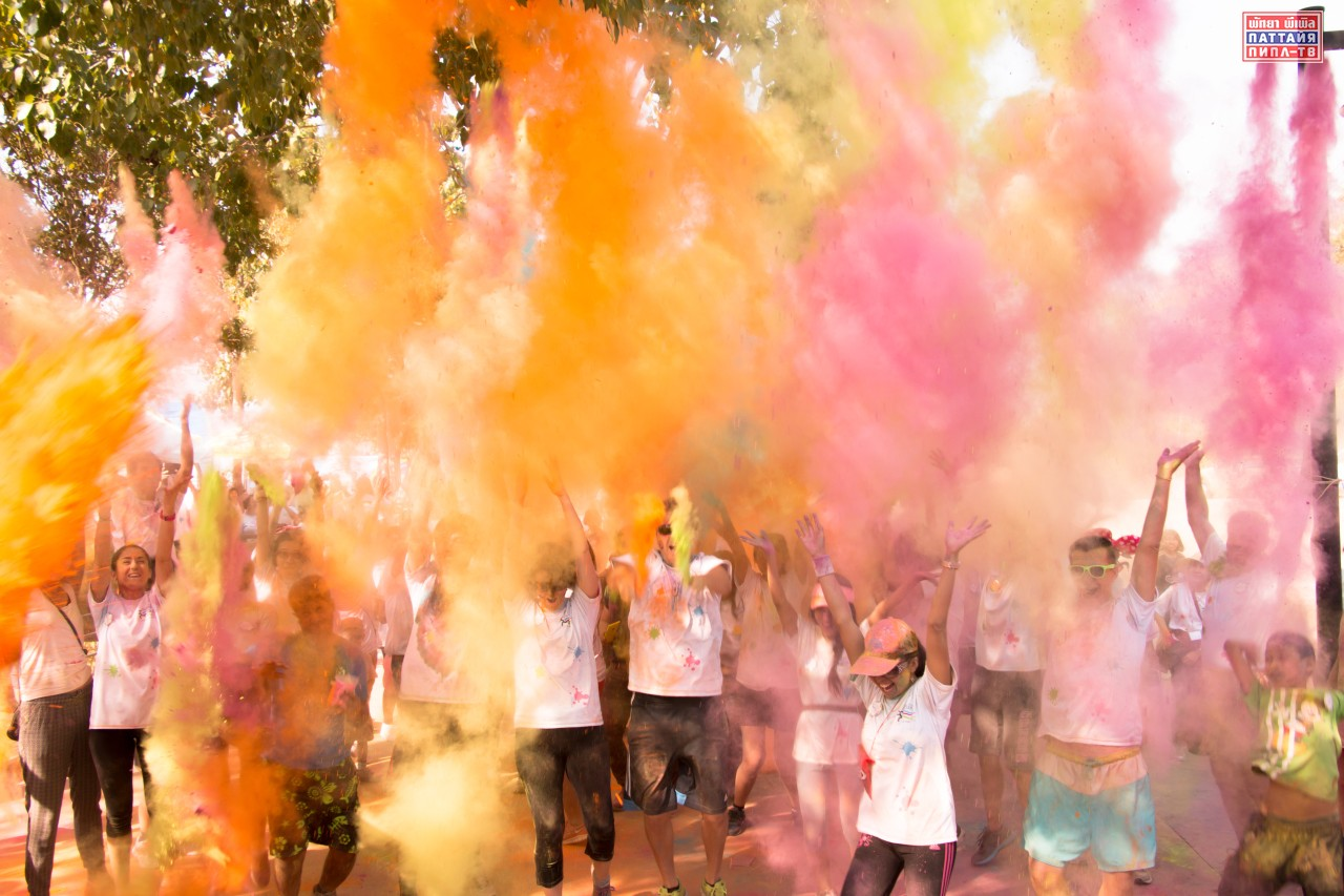 Благотворительный забег Pattaya Colour Run(1)
