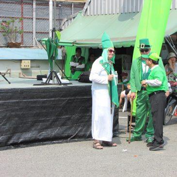 Парад святого Патрика в Паттайе
