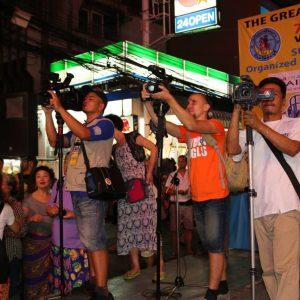 Гонки на кроватях в Паттайе в мировых новостях