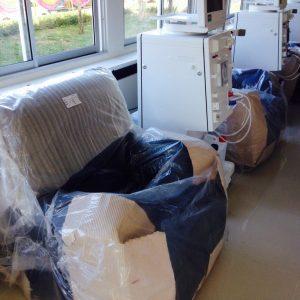 Новое отделение для диализа в Нонгпры