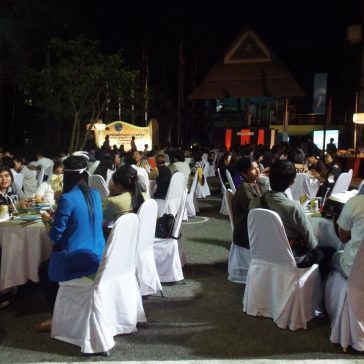 Новогодний вечер в Министерстве туризма Таиланда
