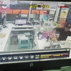 Новости Паттайи 30 января 2015 – Ограбление магазина Family Mart