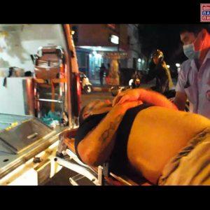 Охранники бара избили туриста
