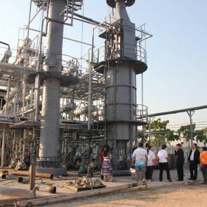 Пожар на нефтеперерабатывающем заводе