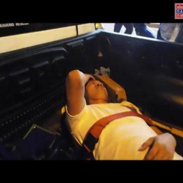 Пьяный водитель наехал на певца из Камбоджи