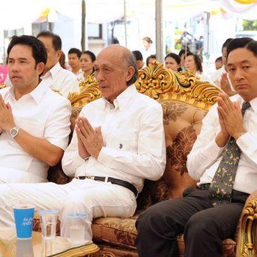 Религиозная церемония в мэрии Паттайи