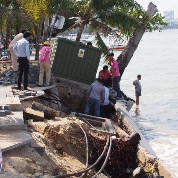Восстановительные работы на Beach Road