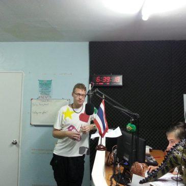 Запись радио шоу «На странных берегах Сиамского залива»
