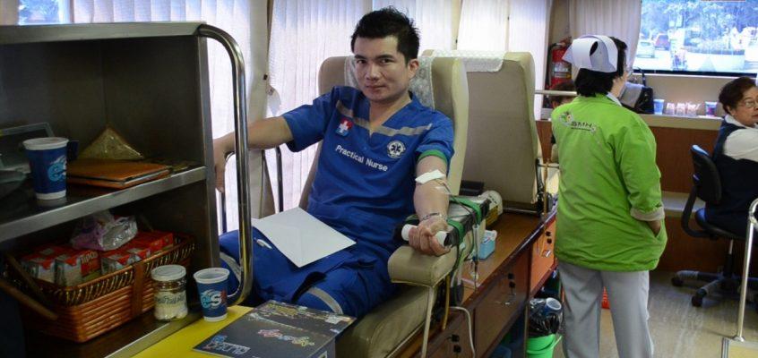 Акция по забору крови в Бангкок Паттайя госпитале