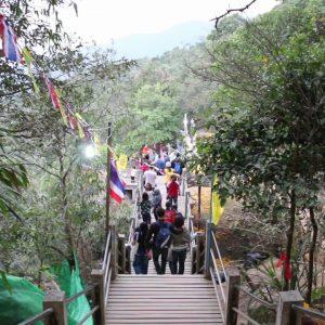 Восхождение на Святую гору Кхао Китча Кут, провинция Чантхабури