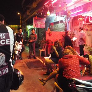 Новости Паттайи 2 февраля 2015 – Полицейский рейд на Planet Earth