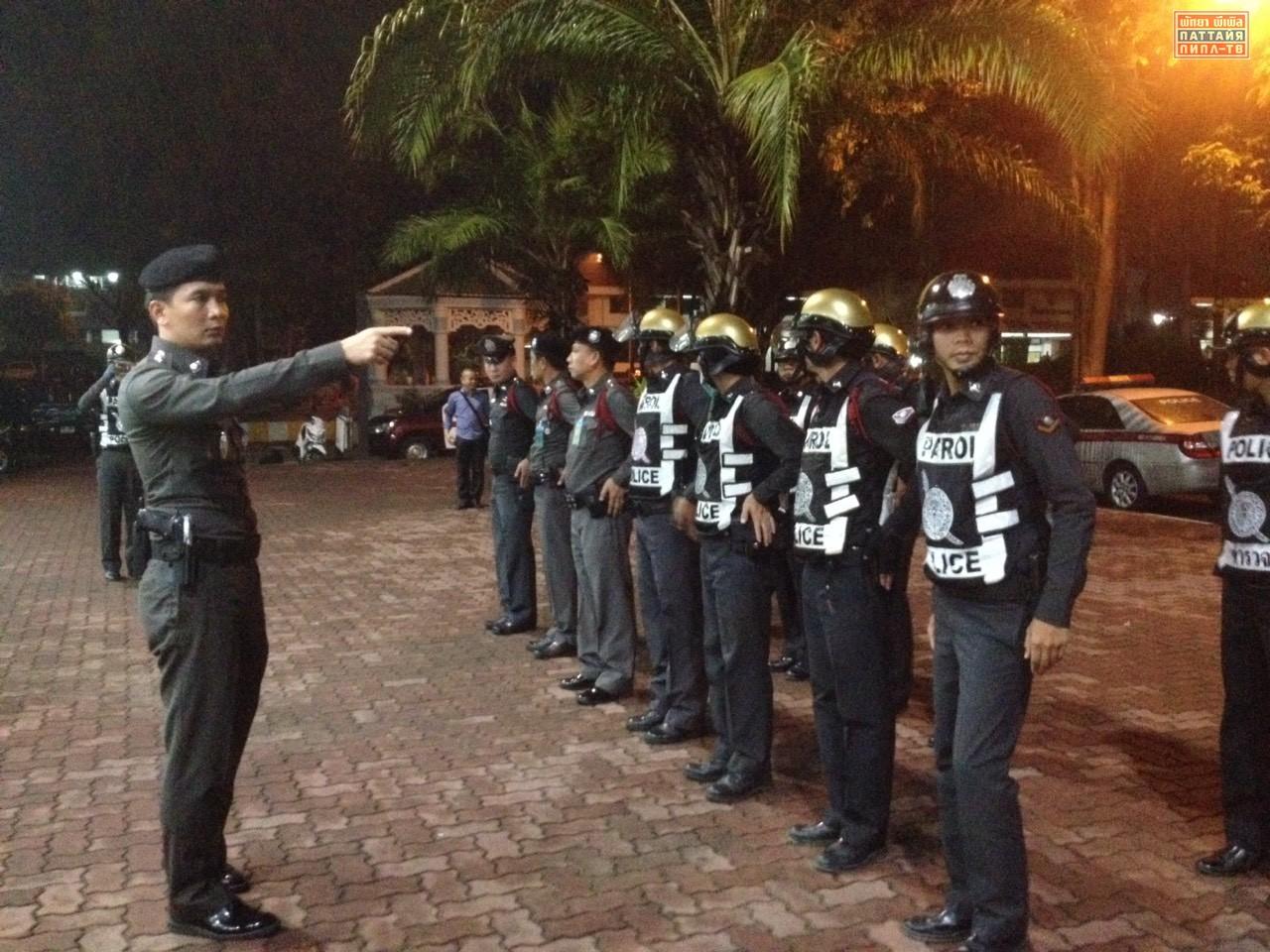 Полицейский рейд по караоке барам Паттайи