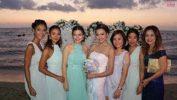Романтическая свадьба на берегу океана