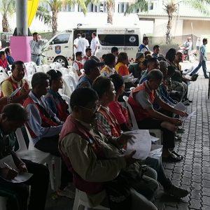 Мототаксисты Паттайи прошли бесплатный техосмотр