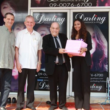 Открытие нового массажного салона «Darling Massage and Spa»