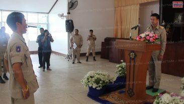 День волонтера на военной базе Саттахип