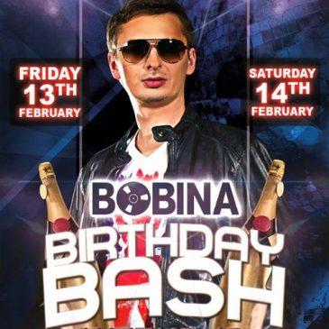 13 — 14 Марта, 2015  Ди-джей Bobina в клубе Mixx