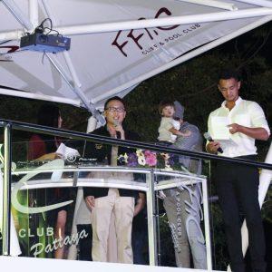 Торжественное открытие клуба FFlic Cliff&Pool Club в Паттайе