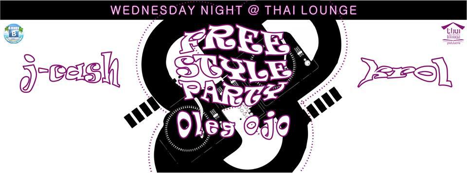 18 Марта, Freestyle вечеринка в «Thai Lounge»!
