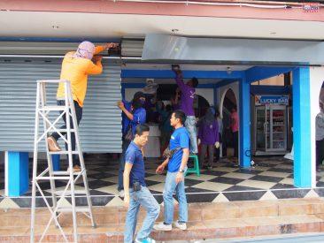 Ликвидация незаконных построек вдоль Паттайского городского канала