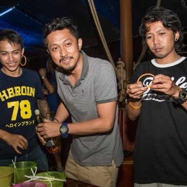 Full Moon Boat Party на пиратском корабле Admirallica в Паттайе