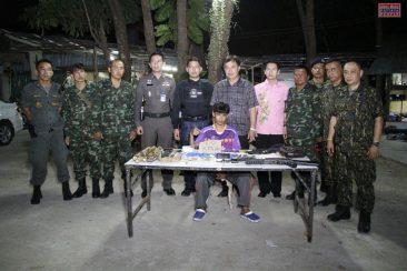 Полиция Паттайи ликвидировала наркопритон