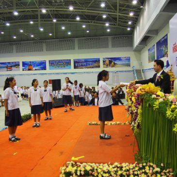 Программа «Нет наркотикам» в тайских школах