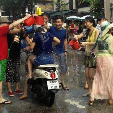 Подготовка к фестивалю Сонгкран в Паттайе
