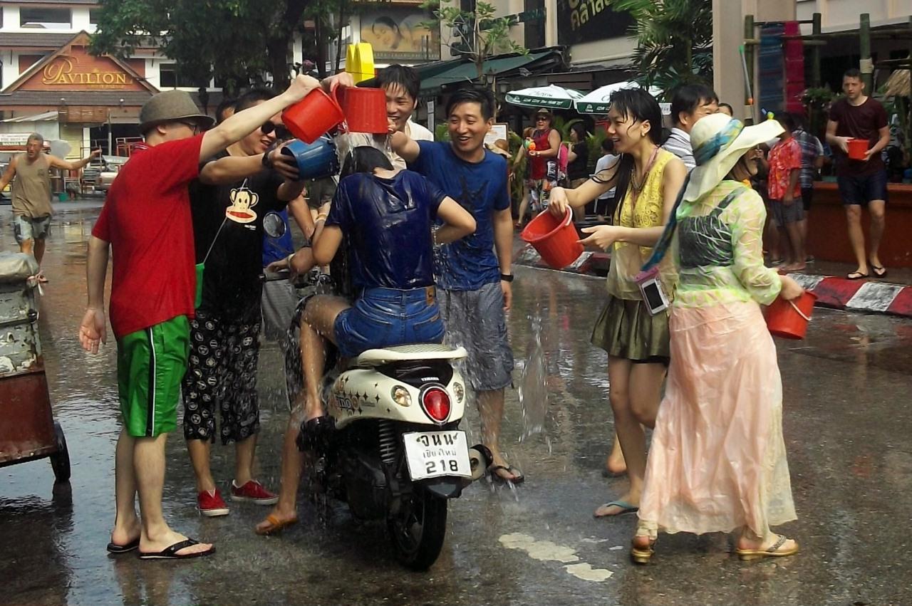 Сонгкран 2019 - полный путеводитель по празднику в Таиланде