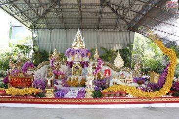 Тропический сад Нонг Нуч готовится к цветочному шоу