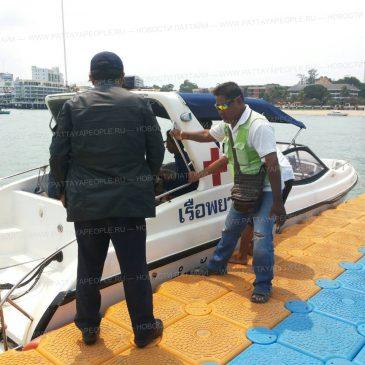 Удачное спасение едва не утонувшего туриста