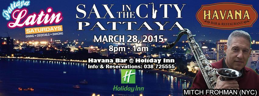 28 Марта, 2015 Вечер живой музыки «Sax in the City»