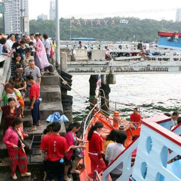 Безопасность в море на период Фестиваля Сонкгран в Паттайе