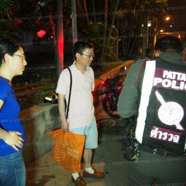 Турист из Китая стал жертвой уличных грабителей в Паттайе