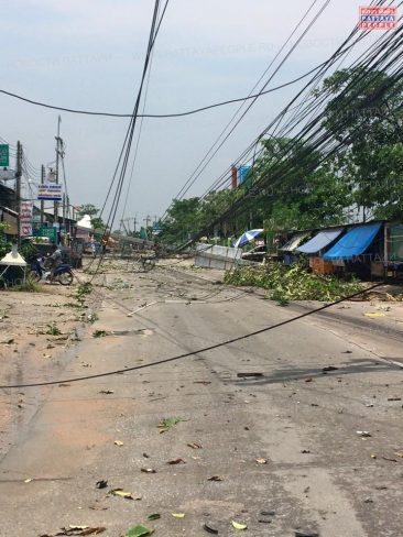 В Паттайе после шторма 22 апреля 2015