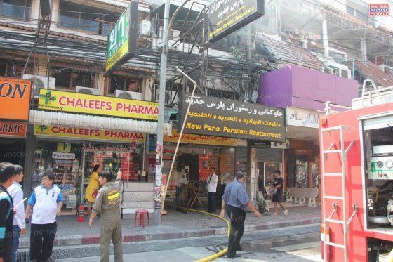 Пожар в персидском ресторане в Паттайе