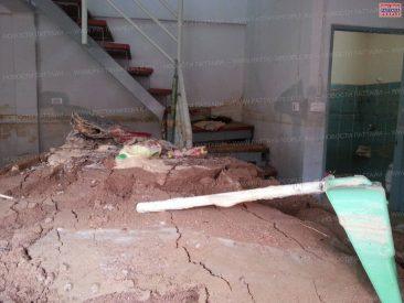 Рухнувшая стена стала причиной хаоса в Паттайе