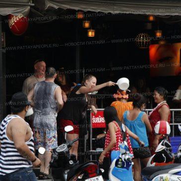 Пустующая Паттайя во время фестиваля Сонгкран
