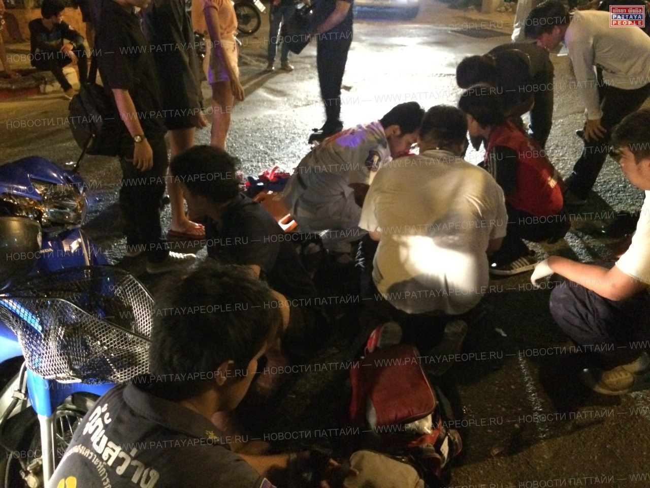 Столкновение мотоциклистов - пострадали подростки(1)