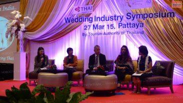 Свадьба в Паттайе для туристов из Индии