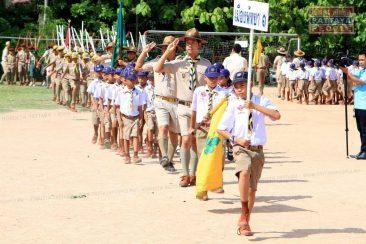 Тайские скауты в Паттайе празднуют годовщину