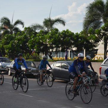 Марафон велосипедистов в Паттайе