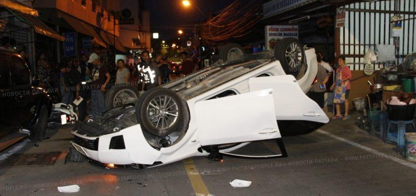 Авария в Паттайе