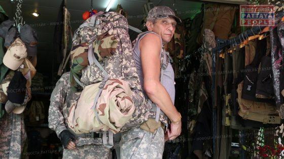 Магазин военной одежды и снаряжения «Stalker» в Паттайе