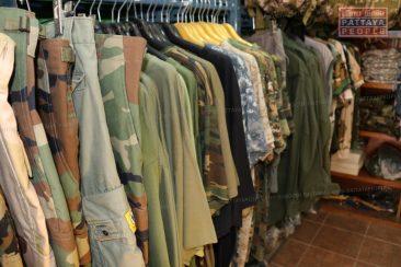 """Магазин военной одежды и снаряжения """"Stalker"""" в Паттайе"""