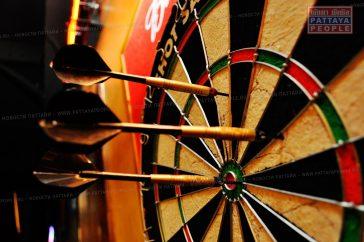 Международный турнир по игре дартс в Паттайе