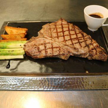 Австралийские стейки в ресторане «Horizon»